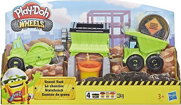 Oferta amazon: Play-Doh Camión De Grava (Hasbro E4293EU4)