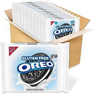 Oreo, Gluten Free Sandwich Cookies 13.29 oz Packs, Chocolate, 12 Count