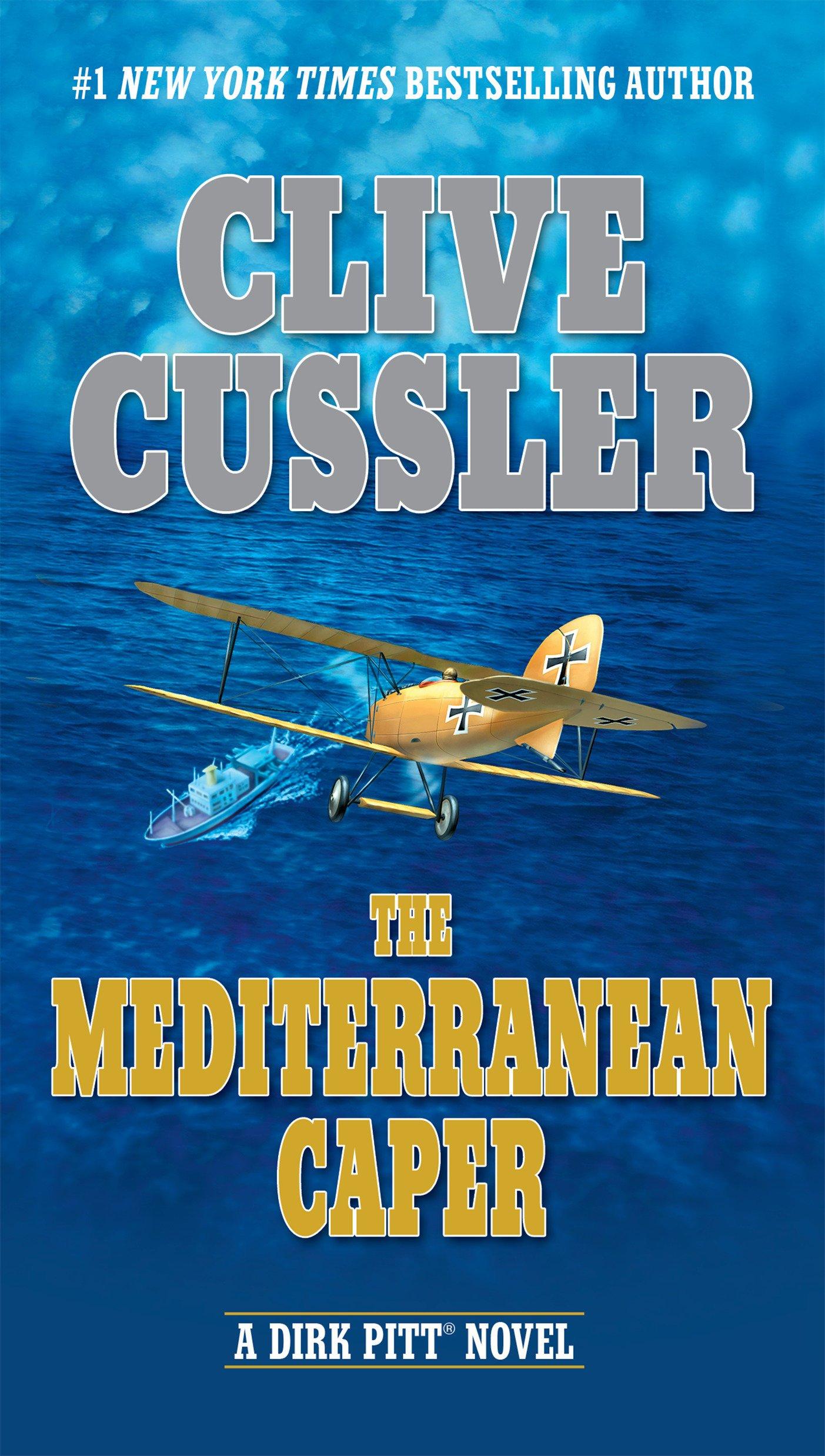 2fa952210 The Mediterranean Caper (Dirk Pitt Adventure): Clive Cussler ...