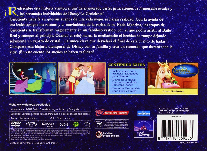 Amazon.com: Cenicienta + Joyero (Spain - Importation): Clyde Geronimi, Hamilton Luske Vv.Aa.: Movies & TV