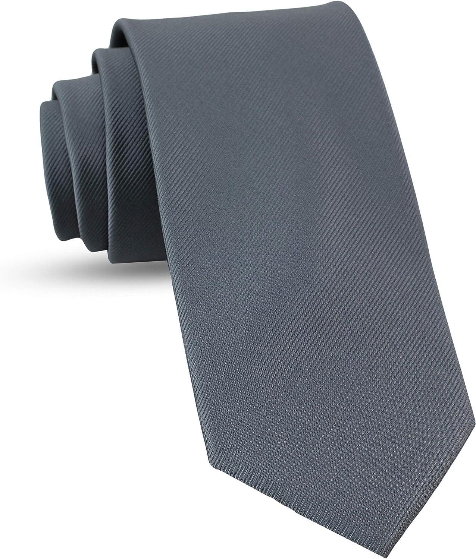 Luther Pike Seattle Handmade Ties For Men: Woven Tie Mens Ties: Standard & Thin Mens ties, Solid Color & Dots Neckties