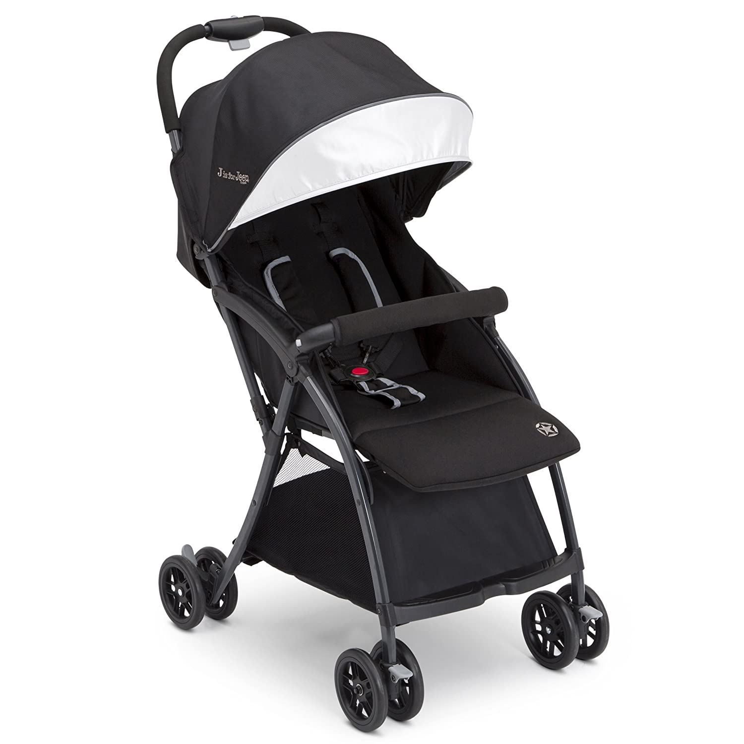 Jeep Ultralight Adventure Stroller, Dusk Black