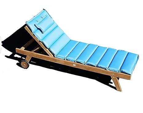 Sedia A Sdraio In Legno : Lettino prendisole in legno di teak sedia a sdraio da giardino con