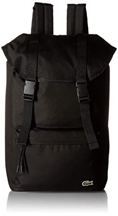 12cb528d1ee6 Amazon.com  Lacoste Men s Neocroc Flap Backpack