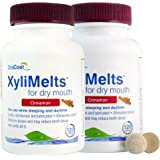 OraCoat XyliMelts for Dry Mouth Care 120 count bottles, All Natural, Gluten Free, No Preservatives, Helps Neutralize…