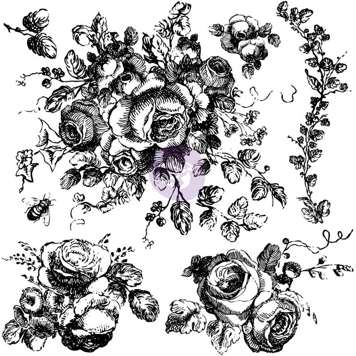 Prima Marketing IOD Decor Stamps - Floral by Prima Marketing (Image #2)