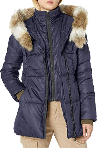 Celsius Womens Heavyweight Wellon Coat with Hood