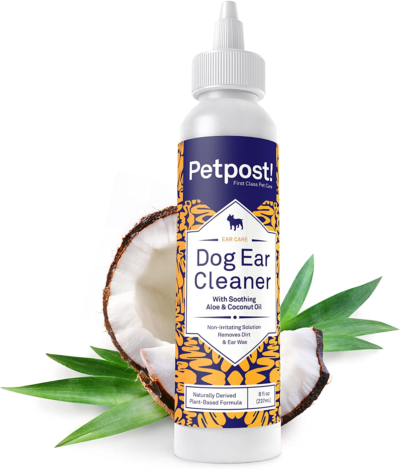 Petpost | Dog Ear Cleaner - Natural Coconut Oil Solution