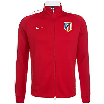 Nike Chaqueta Atlético de Madrid Authentic N98 -Rojo- 2014-15: Amazon.es: Deportes y aire libre