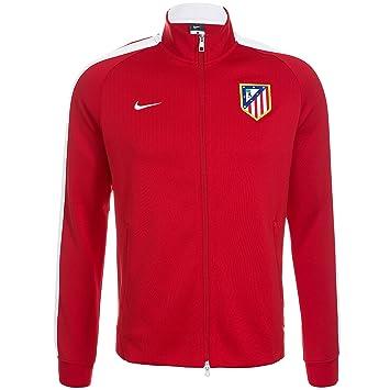 191e6cbdd8995 Nike Chaqueta Atlético de Madrid Authentic N98 -Rojo- 2014-15  Amazon.es   Deportes y aire libre