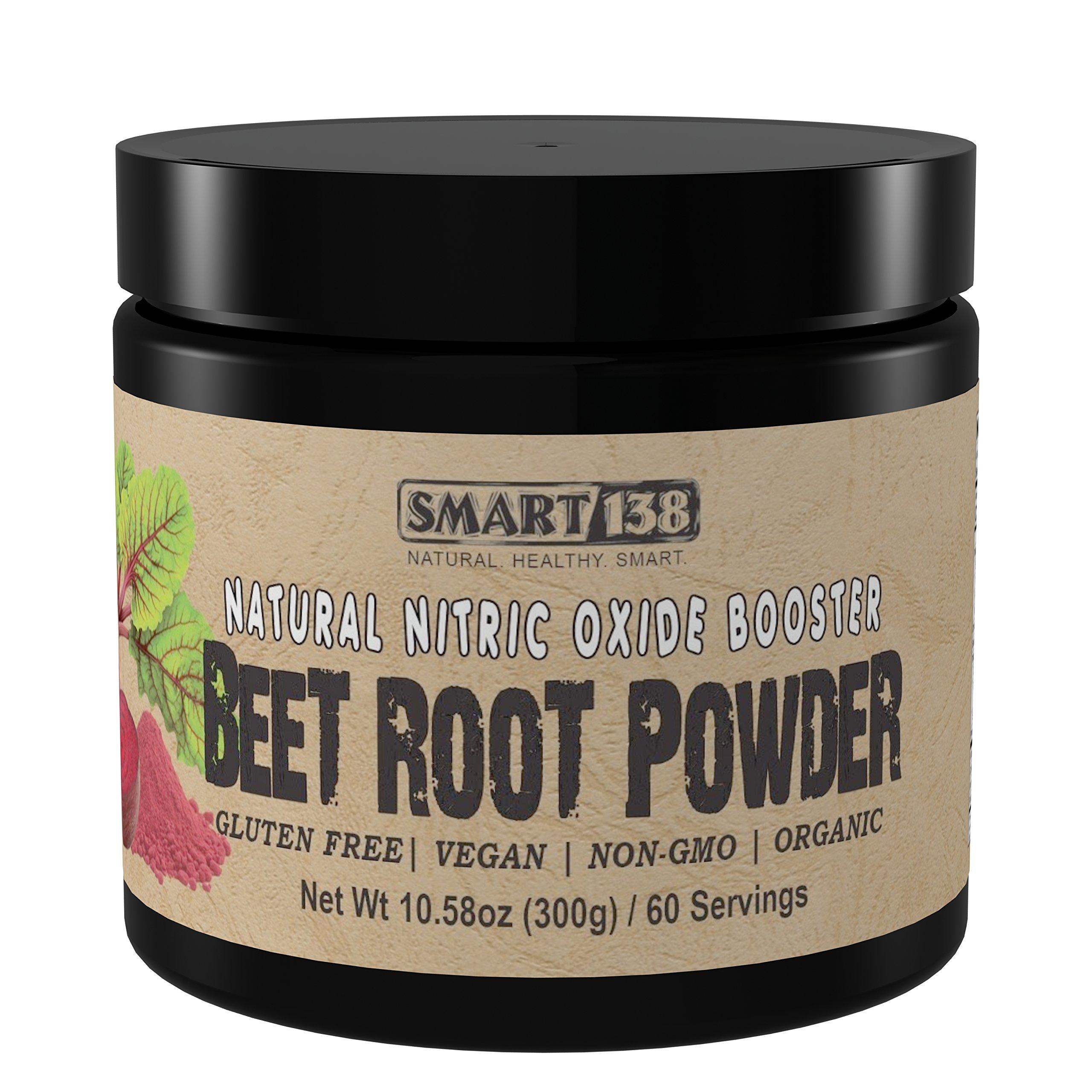 100% Organic Beet Root Powder (300g / 10.58oz) Premium Natural Nitric Oxide Booster