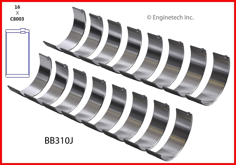 Rod DNJ Engine Components RB200 Bearings