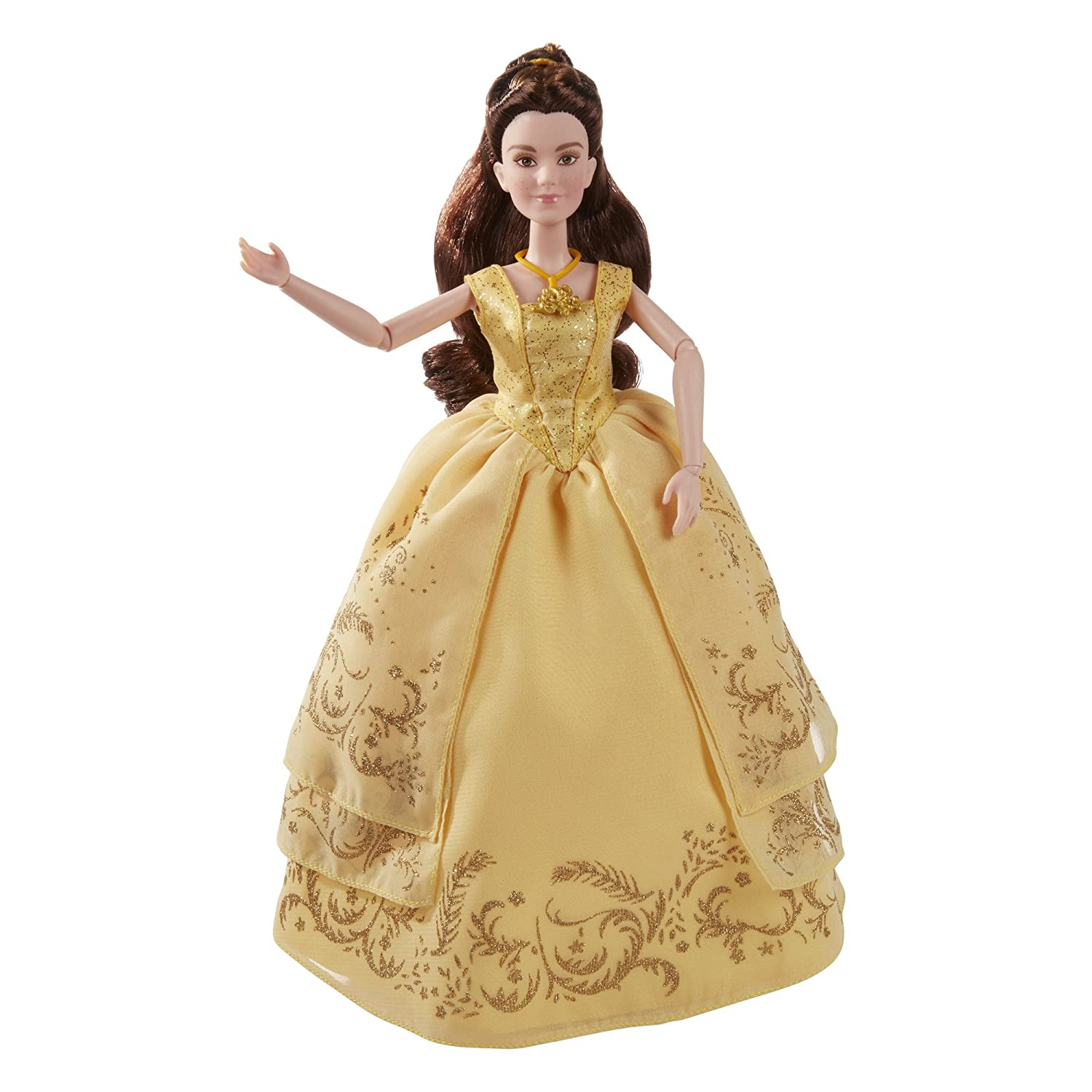 Amazon.com: Disney Beauty and The Beast Enchanting Ball Gown Belle ...