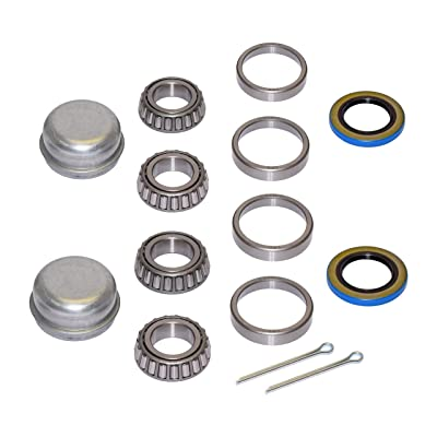 Pair of Trailer Bearing Repair Kits for 1-1/16 Inch Straight Spindles: Sports & Outdoors
