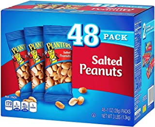 product image for Planters Salted Peanuts [48CT Box]