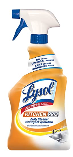 Lysol Antibacterial Kitchen Cleaner Kitchenpro Daily 650 Ml