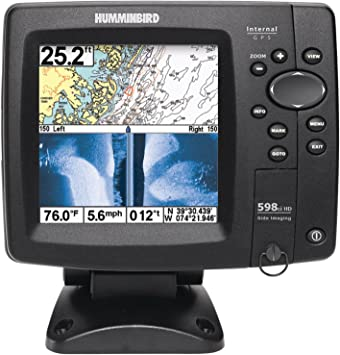 Humminbird 598ci Hd Si Combo Gps Fishfinder Side Elektronik