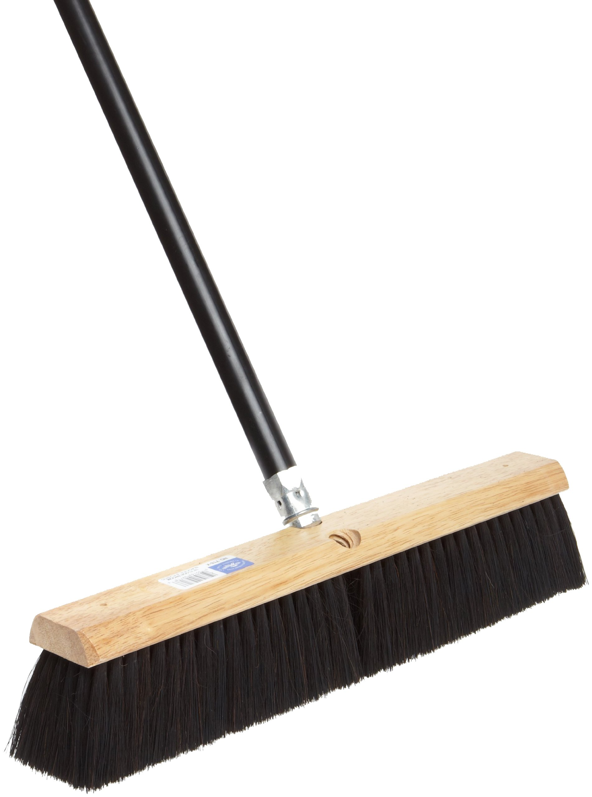 No. 7 Line Floor Brushes - 18'' floor brush w/m60 2e7b2d black plast