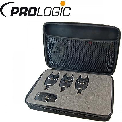 Prologic snz Bite Alarma Kit 3 + 1 – Detectores de picada para carpas, picada