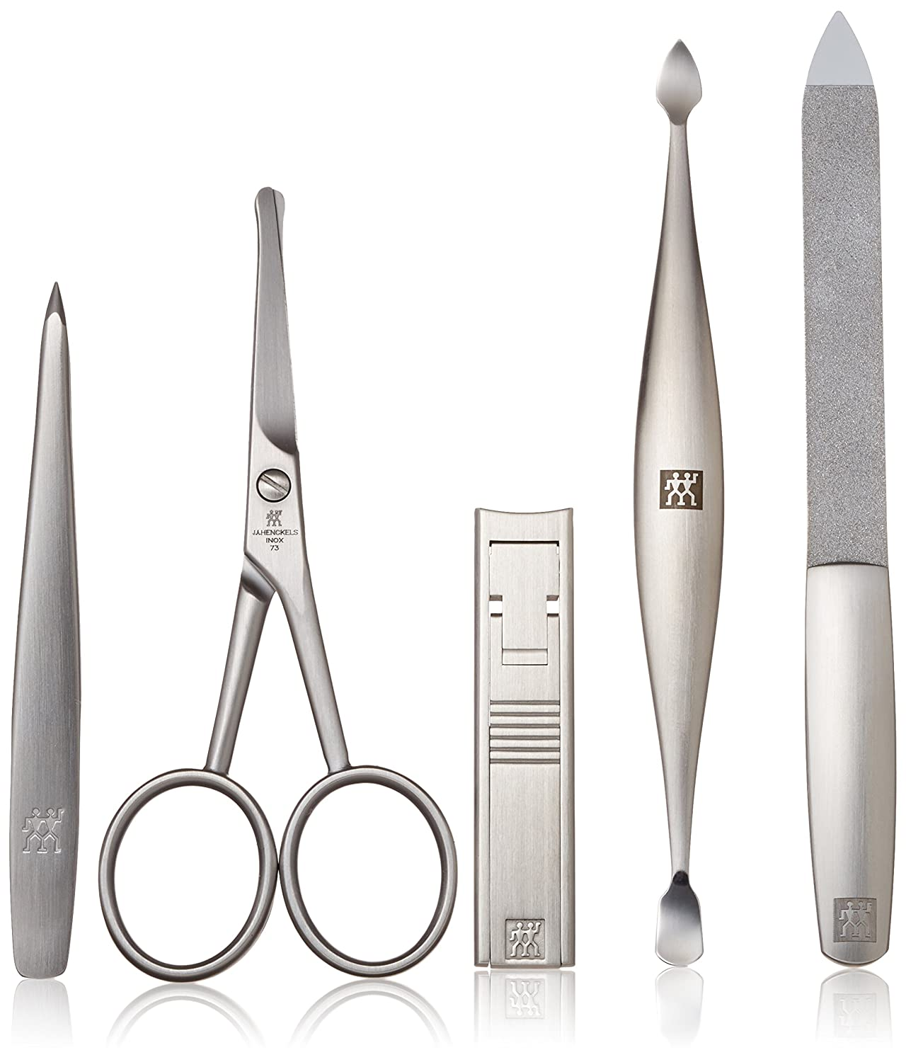 Amazon.com: Zwilling J.A. Henckels 5-Piece Grooming Set: Luxury Beauty