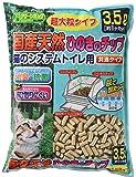 クリーンミュウ 猫砂 国産天然ひのきチップ超大粒タイプ 3.5L