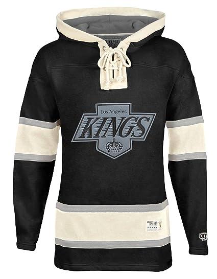 afdb7c6da Old Time Hockey NHL Los Angeles Kings Men s Alternate Lacer Heavyweight  Hoodie