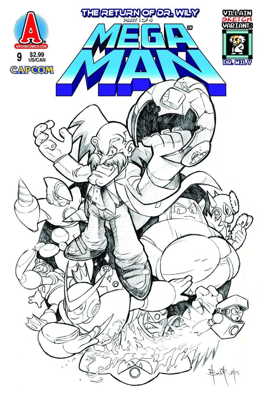 mega man coloring book