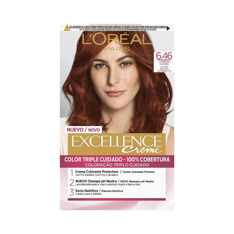 Color de cabello rubio medio dorado caoba