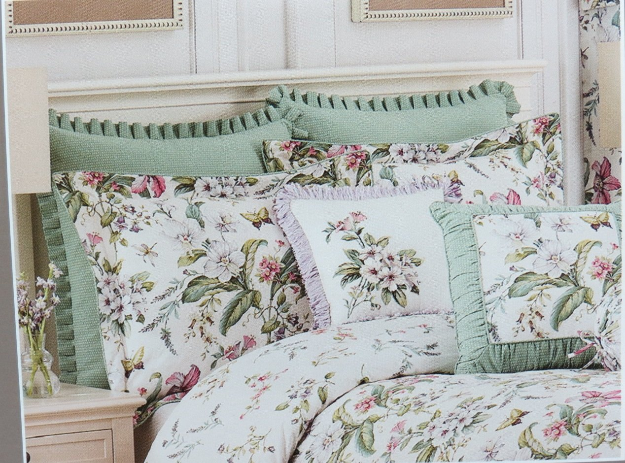Amazon.com: Williamsburg Palace Green European Pillow Sham RN 83364: Home & Kitchen