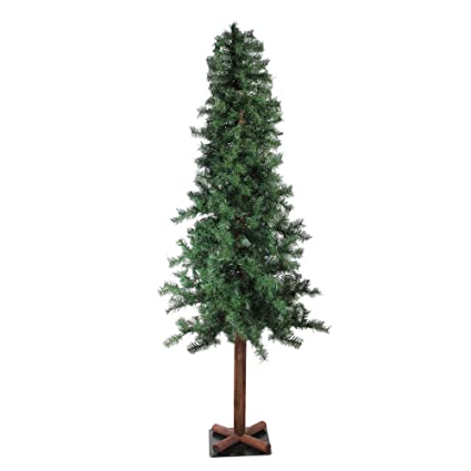 5e73d00dcd9aa Northlight 7  Traditional Woodland Alpine Artificial Christmas Tree – Unlit
