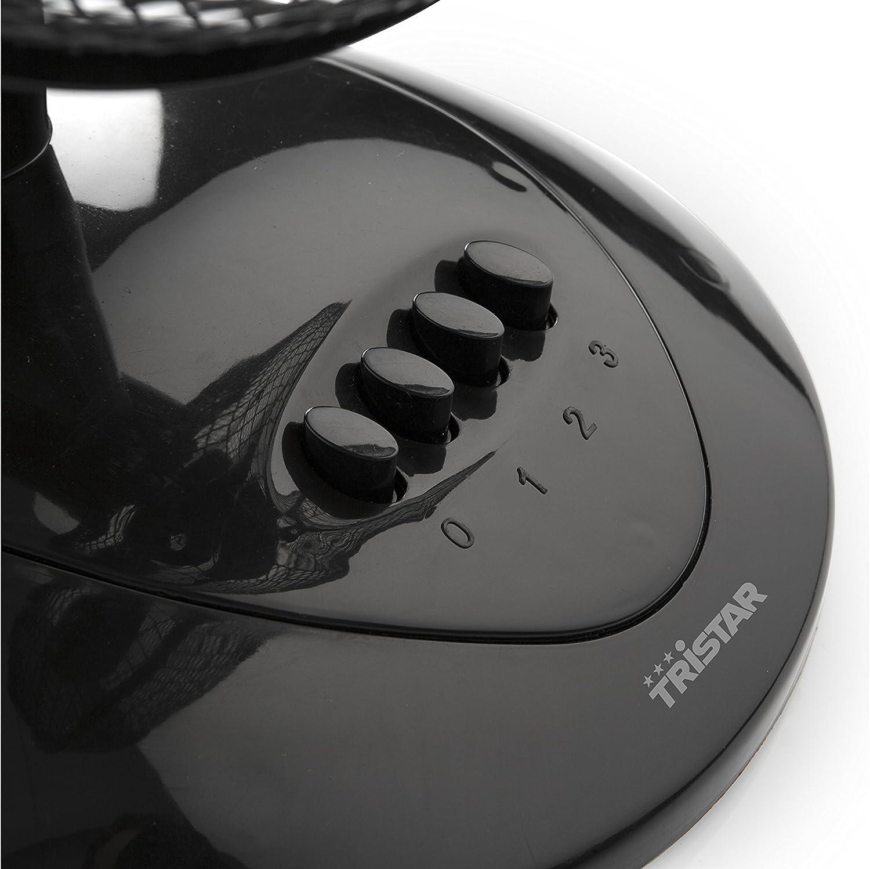 15 cent/ímetros Tristar VE-5909 peque/ñas dimensiones Ventilador de mesa