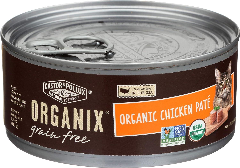 Castor & Pollux, Cat Organix Chicken Pate Organic, 5.5 Ounce