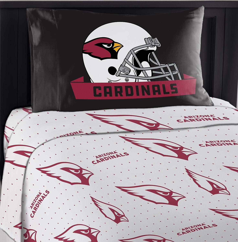 """Northwest NFL Arizona Cardinals """"Monument"""" Twin Sheet Set #402101422"""
