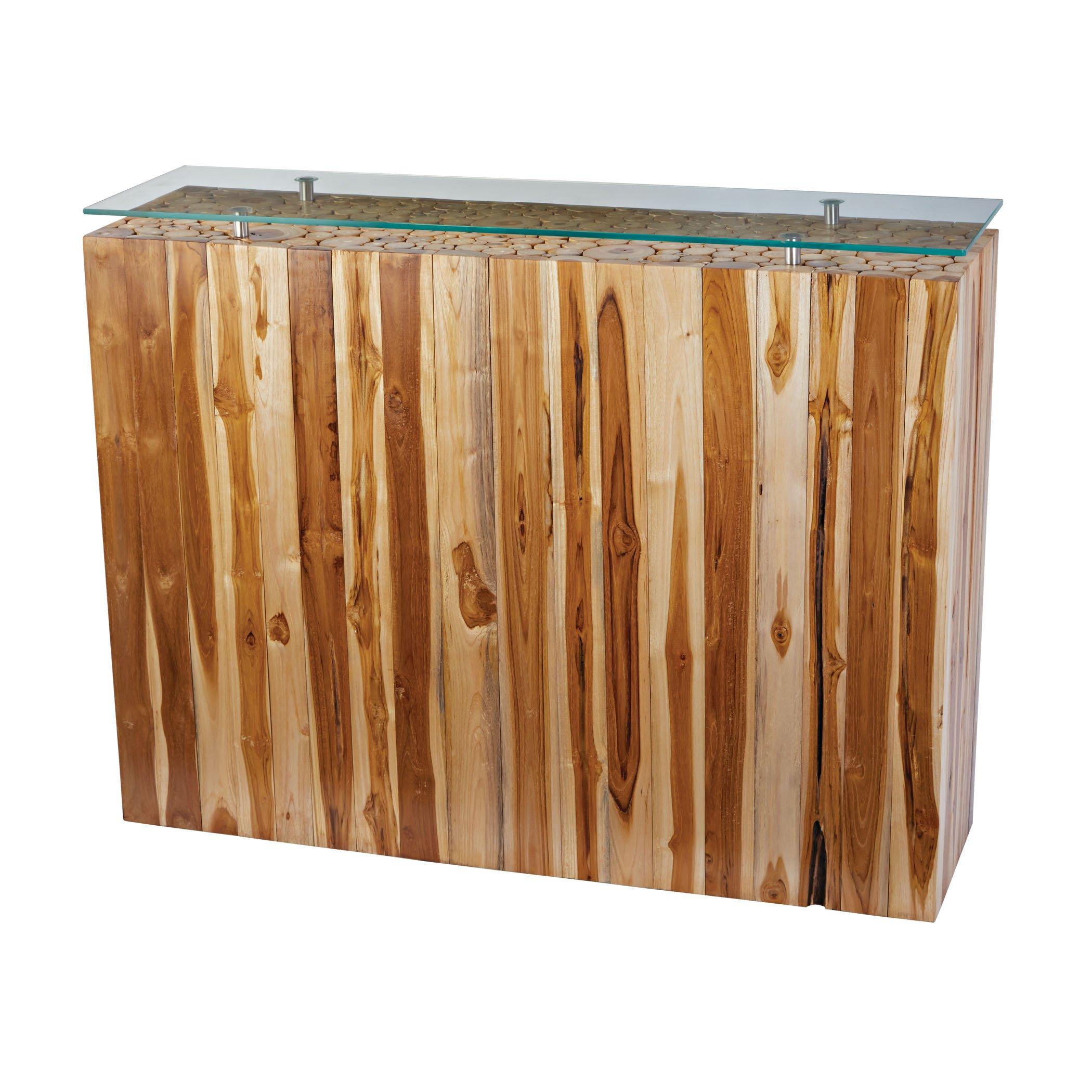 Dimond Home 162-029 Bundled Teak Root Console Table, 44'' x 12'' x 32''