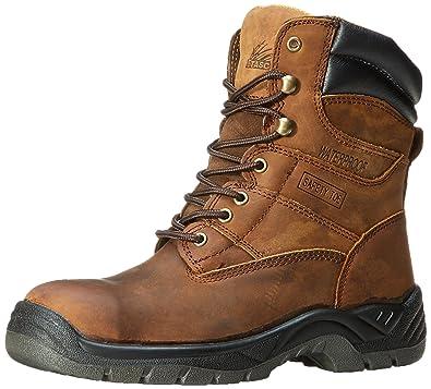 Itasca Mens Authority 8 Inch Medium Work Boot Brown