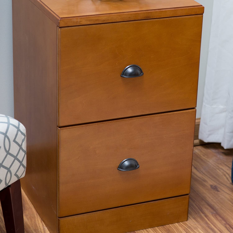 Belham Living Cambridge 2-Drawer Wood File Cabinet – Light Oak