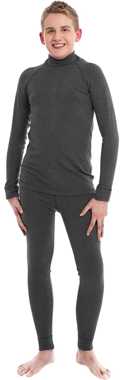 Kinder Funktionsunterwäsche SET Langarmshirt & Lange Unterhose Modell: HR057 SILVERPLUS