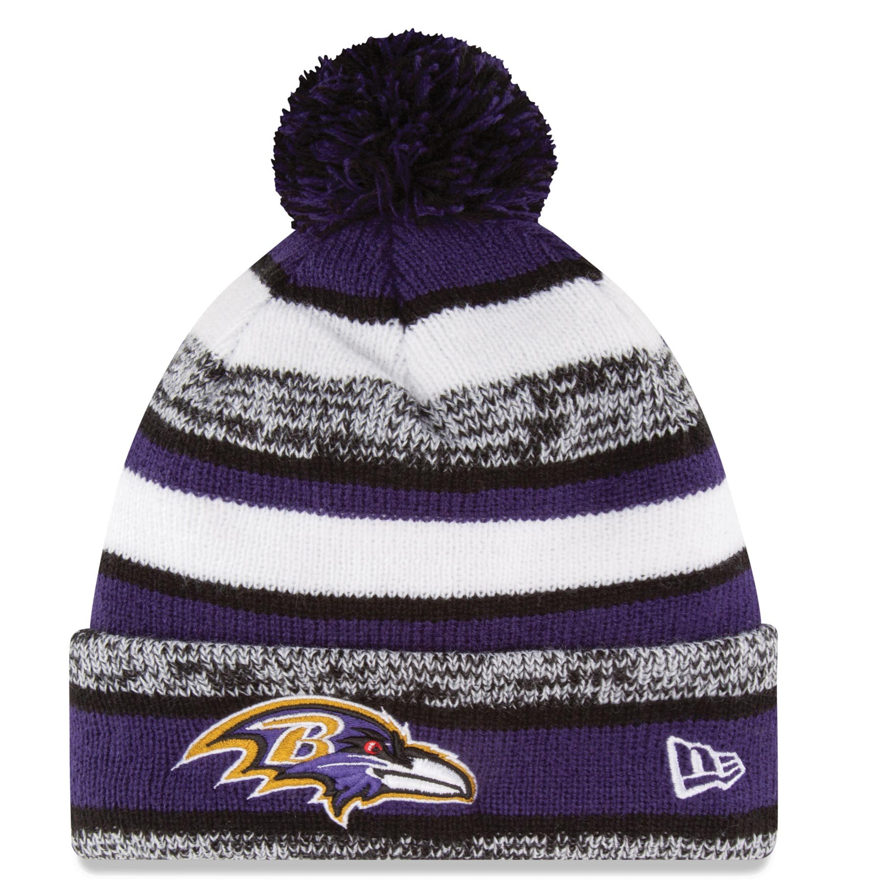 New Era NFL 2014 On-Field Knit Hat (Ravens)