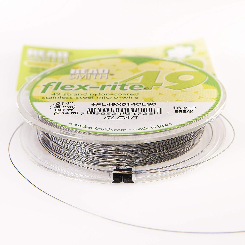 49 strand beading /& jewellery wire Flex-rite from Beadsmith.