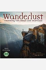 Wanderlust 2021 Wall Calendar: Trekking the Road Less Traveled - Featuring Adventure Photography by Jake Guzman Calendar