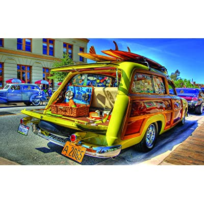 Woody Wagon 300 Piece Jigsaw by SunsOut: Toys & Games