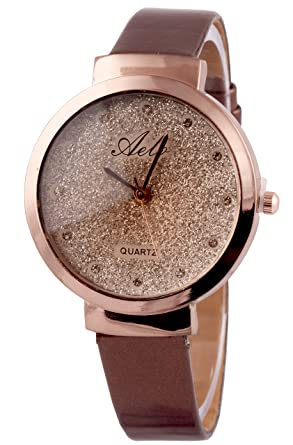 43809396250 Aelo Analog Rose Gold Dial Girls Watch - Www1026  Amazon.in  Watches