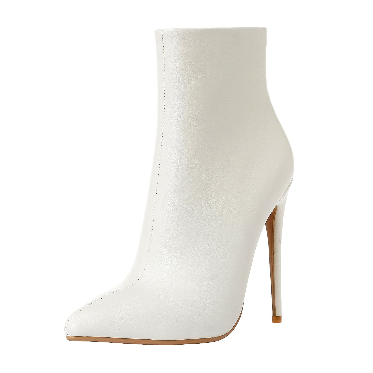 buy popular 6d764 2a032 ZAPROMA Sexy Fashion Zabawa Stiletto Pointy Toe Toe Toe Boots Shoes for  Women. B07DTHVQVR Boots 9d38fd