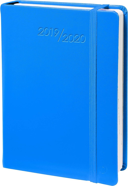 Agenda Escolar 1 Día/Página 2019-2020 Habana, 12x17, color Azul ...
