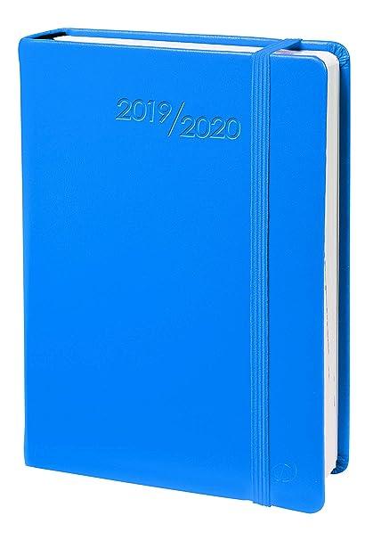 Agenda Escolar 1 Día/Página 2019-2020 Habana, 12x17, color Azul
