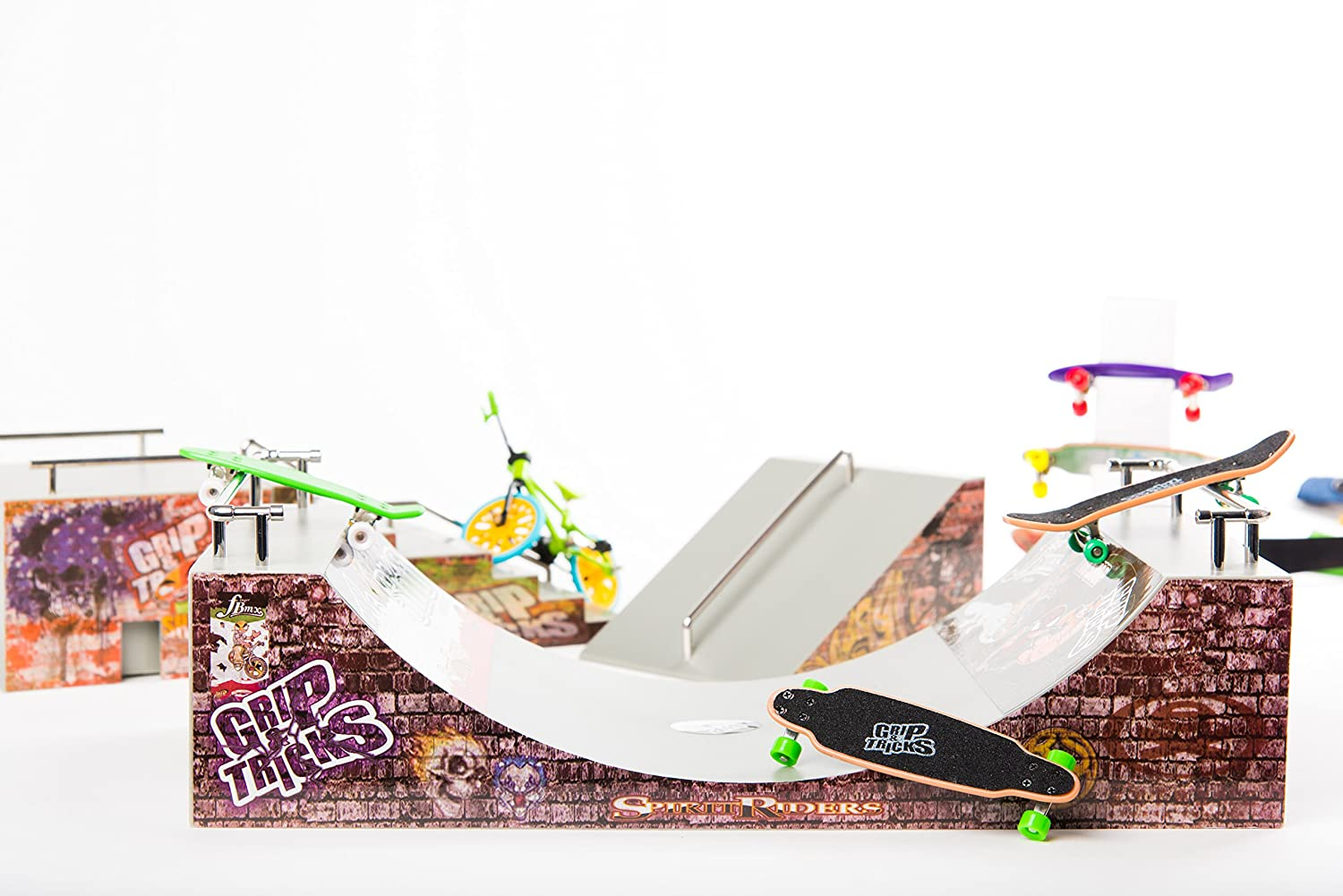 Rampes de Finger Mini skate Grip /& Tricks FUNBOX ET ESCALIER Fingerboard : Dimensions: 28 X 12 X 10 cm