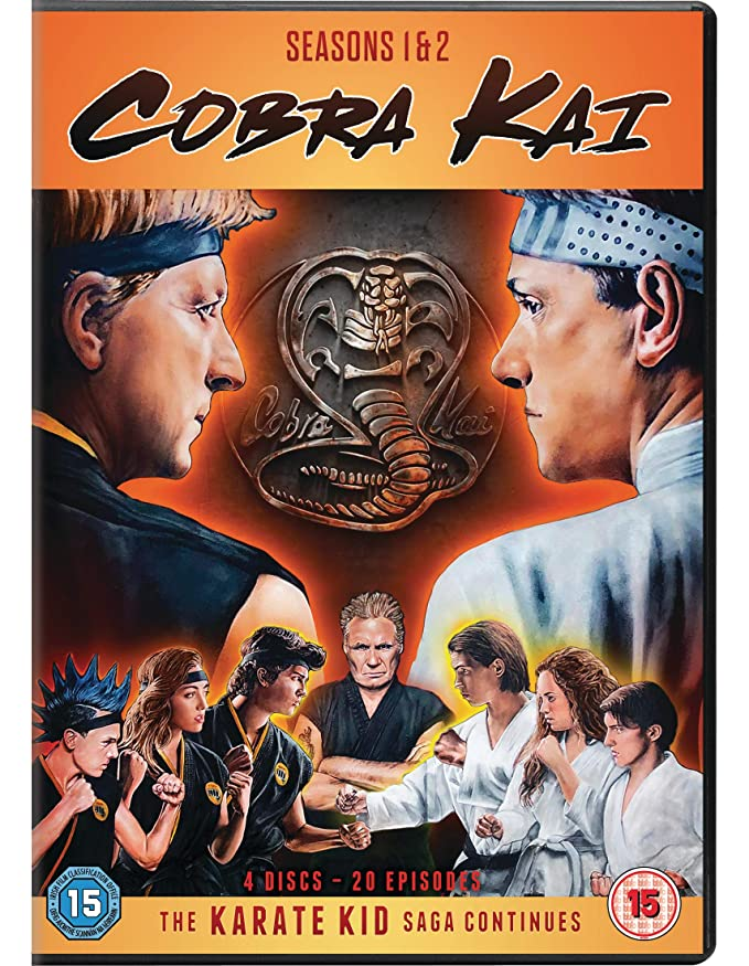 Cobra Kai - Season 01 / Cobra Kai - Season 02 - Set [Reino Unido] [DVD]