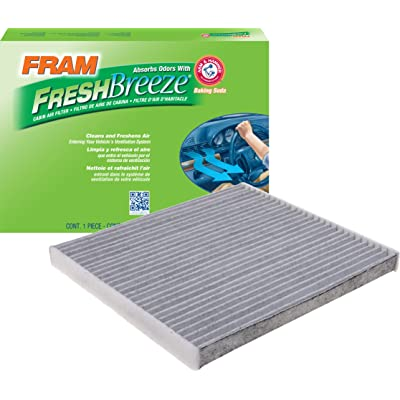 FRAM CF12000 Fresh Breeze Cabin Air Filter with Arm & Hammer: Automotive