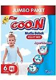 Goon Mutlu Bebek Külot Bez, 6 Beden, Jumbo Paket, 24 Adet, Beyaz