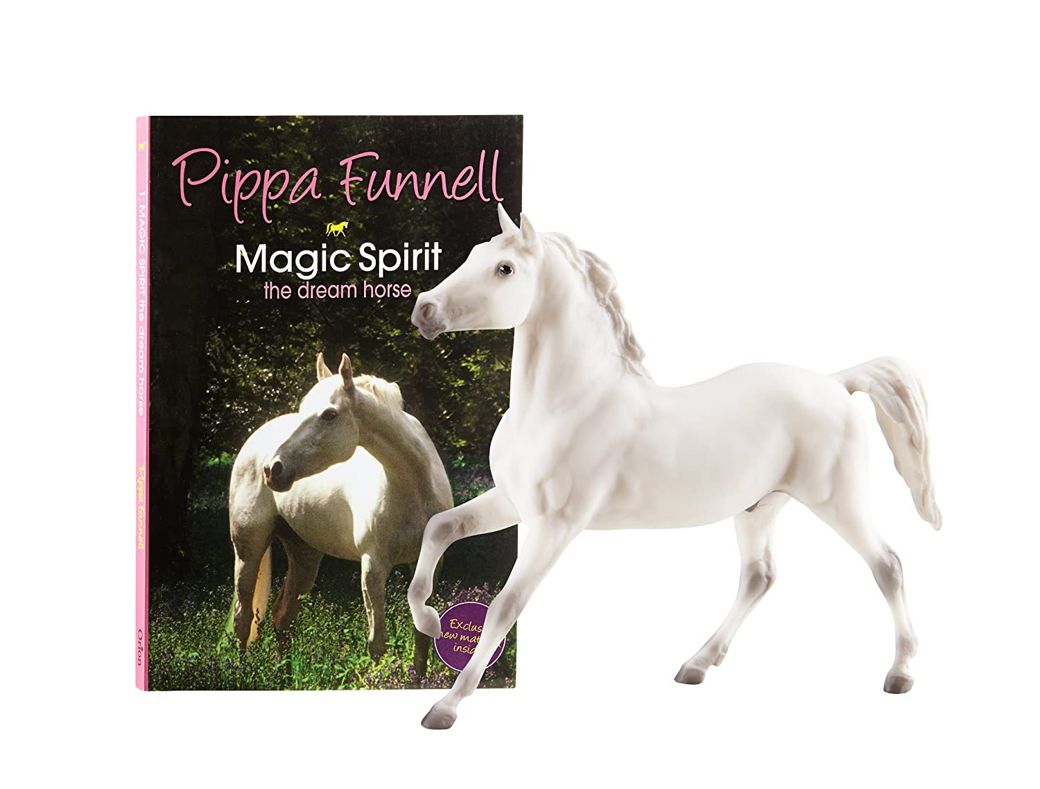 Breyer Pippa Funnell's Magic Spirit Horse and Book